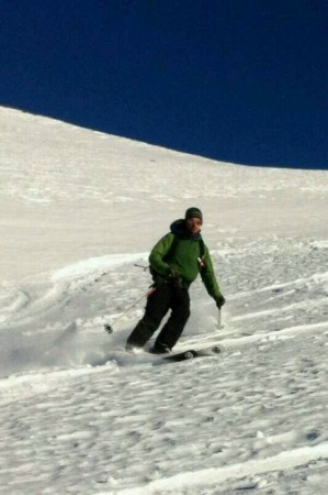 Another day skiing on the concept White Dot skis.