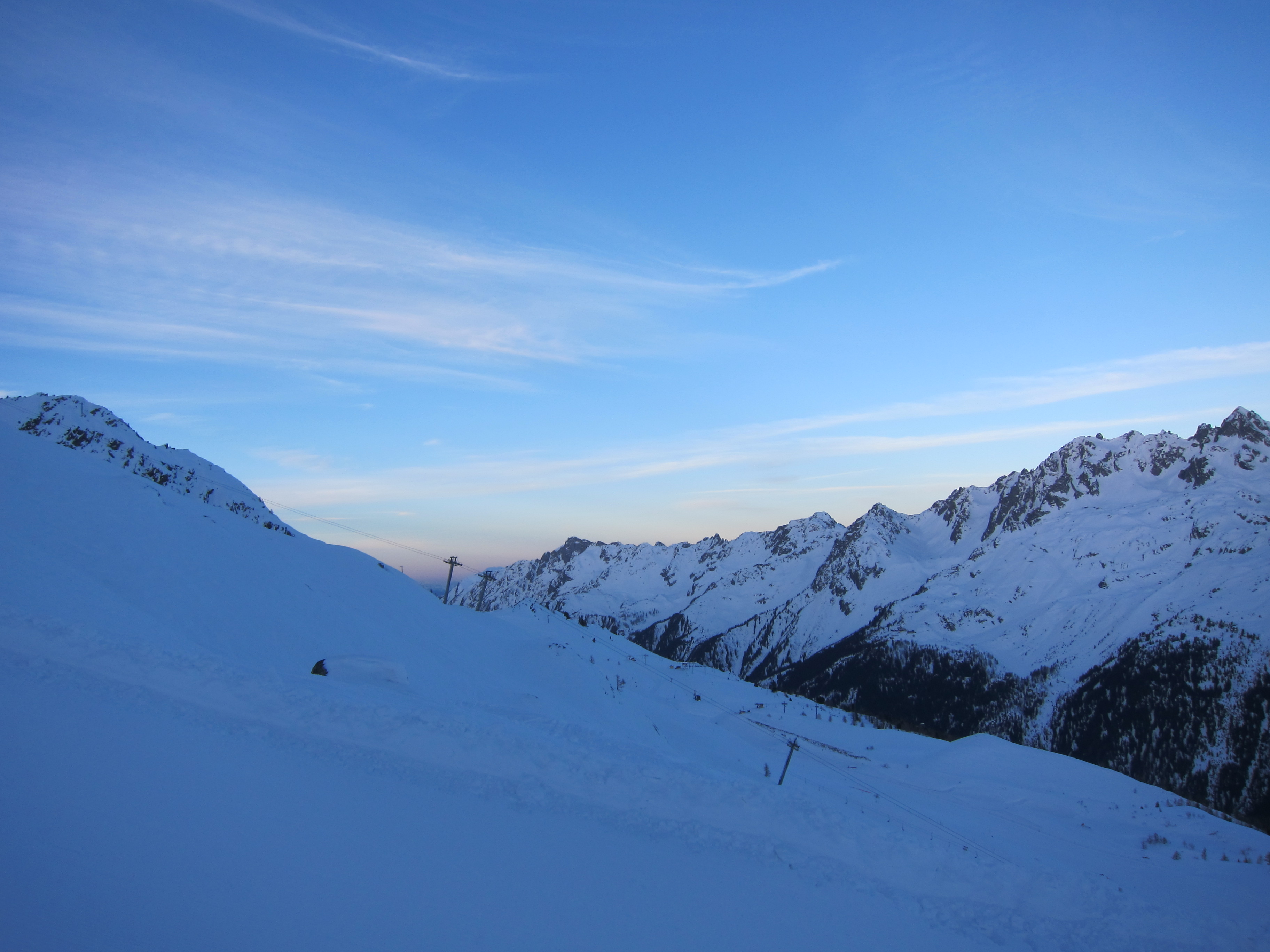 A deserted Grand Montet, perfect!