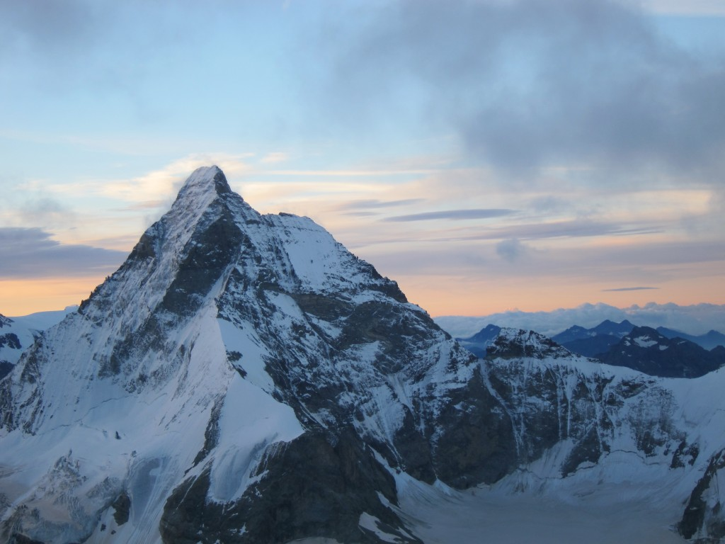 North face of the Matterhorn, taken from Dent Blanche