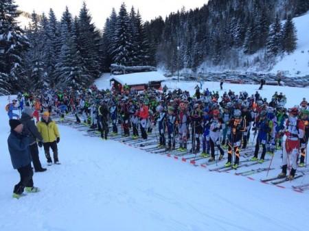 Torgon race start