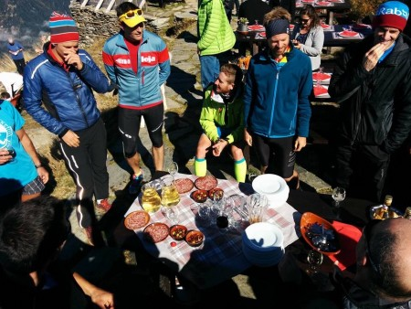 Thankfully, at the finish there was cake