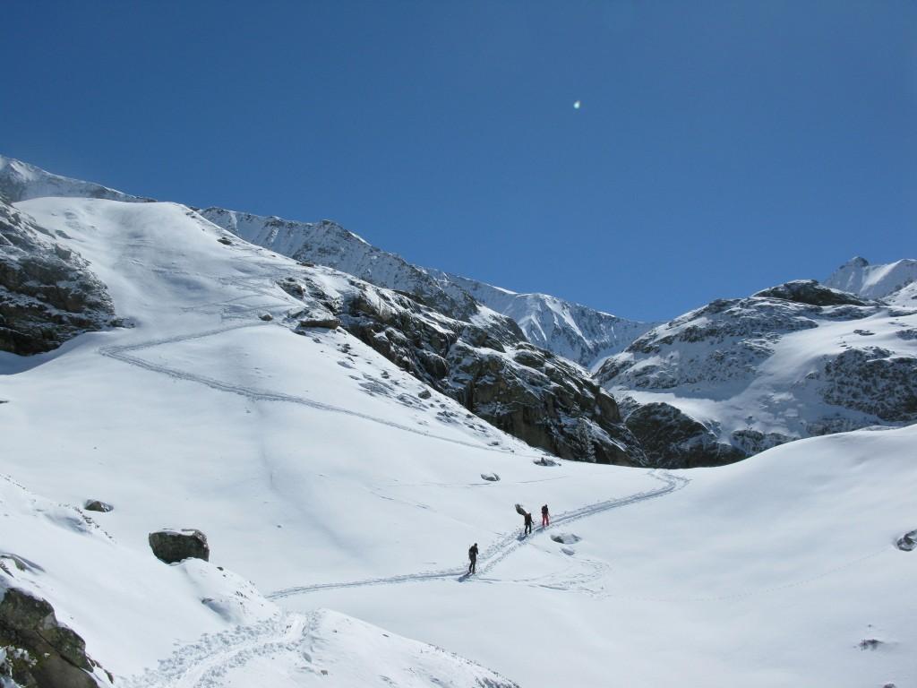 Domes du Miage Ski traverse