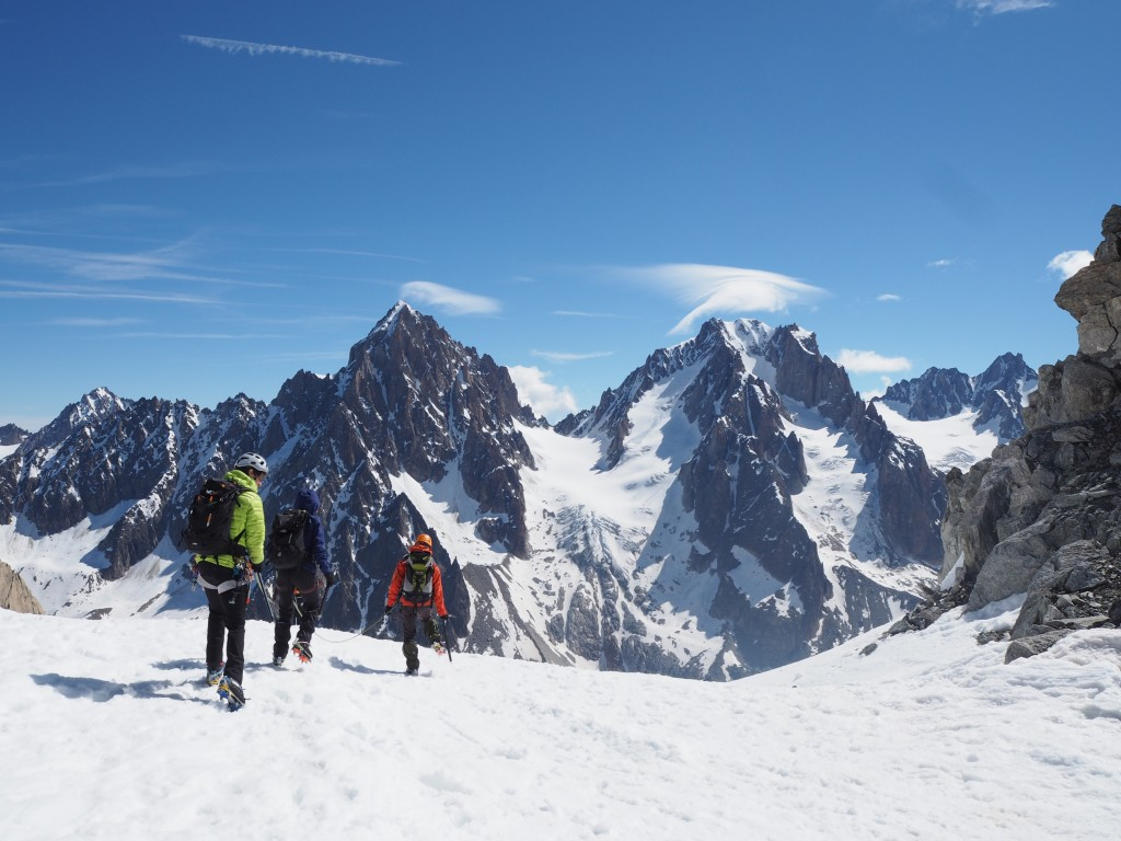 The Forbes arete on the Chardonnet and the normal route on the Aiguille Argentiere have both seen ascents last week.